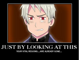 Hetalia Prussia Motivational Poster by vocaloid223