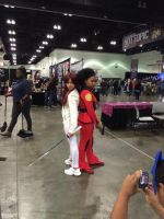 Colleen Wing and Misty Knight by Closer-To-The-Sun