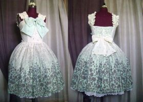 Fairies Garden Chiffon JSK by monarch-lolita