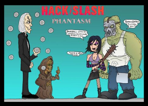 HackSlash: Tall Man by Lordwormm