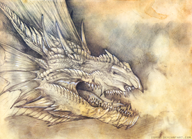 Pyrkon Dragon by Isvoc