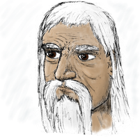 Old Wise Man by iampagan