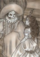 Red Death and the Maiden by jackfreak1994