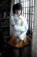 Mami Tomoe Costume WIP 01 by ConJurer-CJ