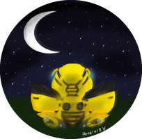 A Bumblebee at Night by Doodlz18