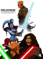 Star Wars Jedi - Holocron 2 by effix35