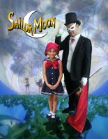 Tuxedo Mask and ChibiUsa Cosplay by Tomiko2011