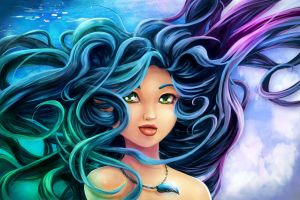Alys: Wind-watery Hair by KhamomealTea