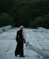 cloud strife_7 by kaname-lovers