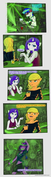 MLP Night life by poptart36