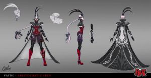 Vayne Aristocratic Skin Concept Art by RitaLux