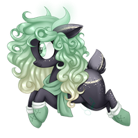 COMMISSION -Mint Evergreen by Azure-Art-Wave