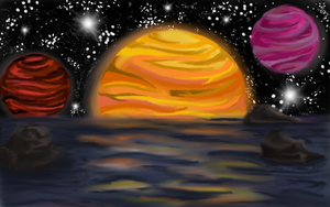 Planets by KittentheB