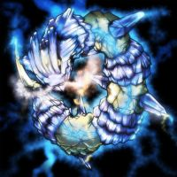 Ice-Electric Steelix by Yilx