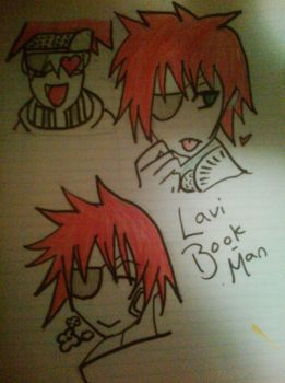 Many Faces Of Lavi by KNUXROUGE16