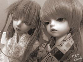 Sepia's feelings by Clariarte