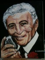 Tony Bennett by bostonb63