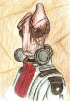 The very model of a scientist salarian by JiiBee