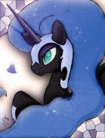 MLP FIM - Nightmare Moon by Joakaha