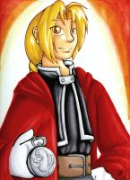 Edward Elric by armaina