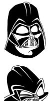 Darth Vadar Expressions by yooki42