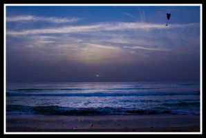 fly on the sea by RomanPhotog