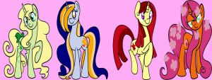unicors adoptables - OPEN by xWhiteDreamsx