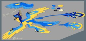 Microraptor Mascot by FablePaint