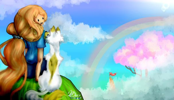 Fionna and Cake Sunny day by PinaBerry