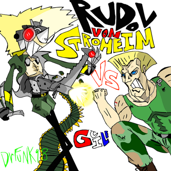 Stroheim vs guile by drfunk98