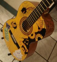 Music Machine - Guitar Design by ColomoArt