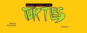 New Ninja Turtles logo (2003's version) by Wael-sa