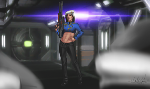 Commander Williams by Mikesw1234