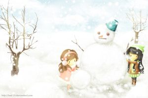Let's Have Another Snow Doll by Leaf-19