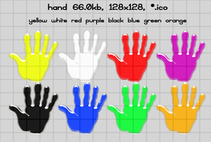 hand 128x128 8icons by gr8koogly