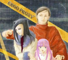 Ergo Proxy.-color- by snwbird