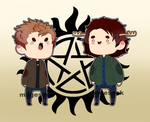 Winchester cheebs by MagneticInsanity