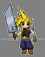 Wind Waker Style Cloud by Nyaasu