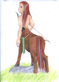another centaur by 0nySabLet