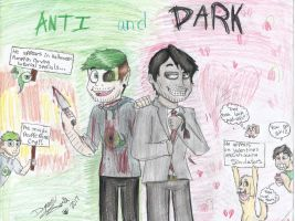 Anti and Dark by DevennaSori