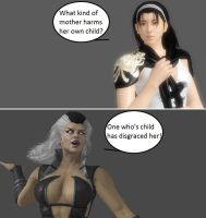 Injustice: Jun Kazama vs Sindel by xXTrettaXx