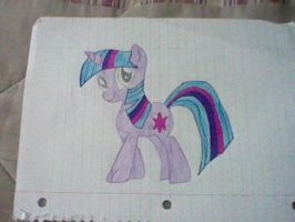 MY Twilight sparkle drawing by jjkgamer