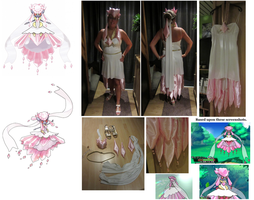 Mega Diancie Cosplayer Costume by SpriteGirl