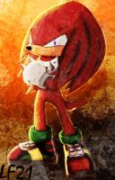 Knuckles The Echidna v1 by LuckyFriend21