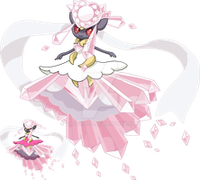 719 - Mega Diancie by Tails19950