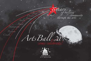 CHAW Arts Ball 2007 Invitation - Front by N0XN0X