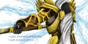 Tyrael, the angel of Justice by Peterlee123