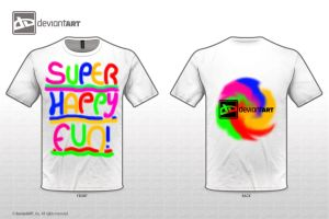 'SUPER HAPPY FUN!'-T-Shirt, Original Quotes 2012 by Sly-Mk3