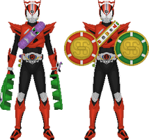 Kamen Rider Drive, Type Speed Tires pt. 3 by Taiko554