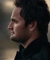 Jason Clarke - Digital Painting by Sheridan-J